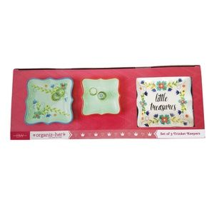 Boston Warehouse Accents - 🆕Little Treasures Set of 3 Trinket Keepers